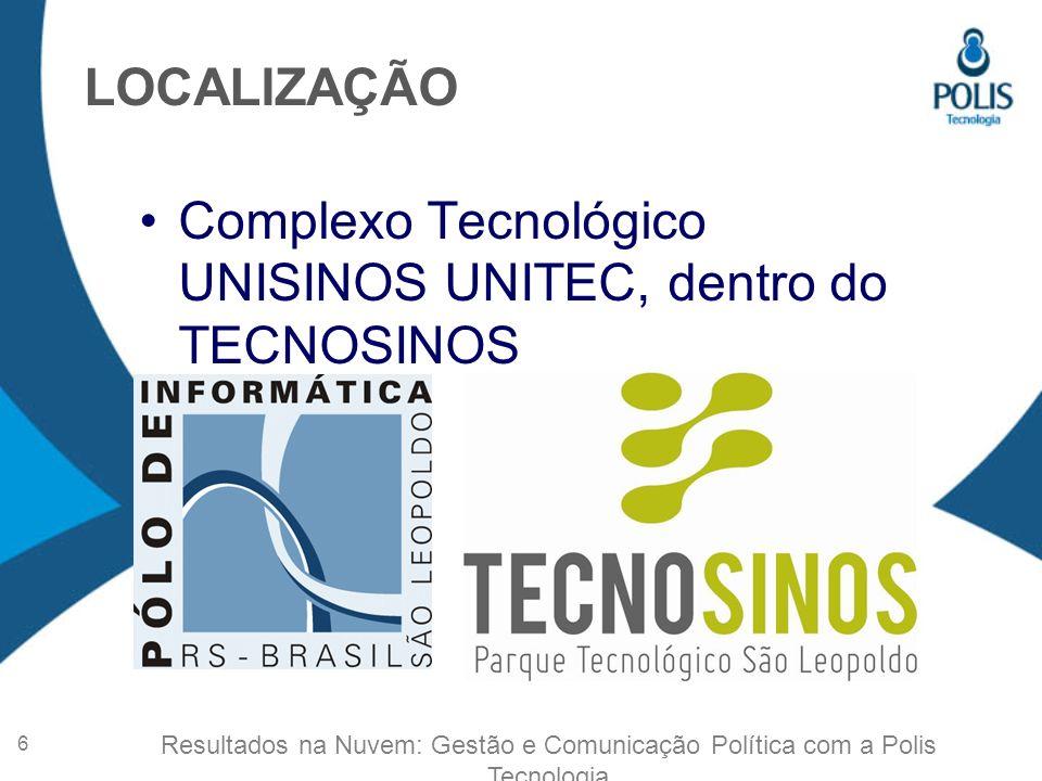 Complexo Tecnológico UNISINOS UNITEC, dentro do TECNOSINOS