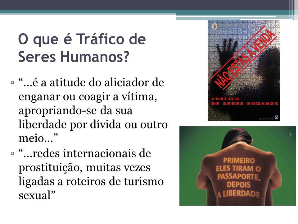 O que é Tráfico de Seres Humanos
