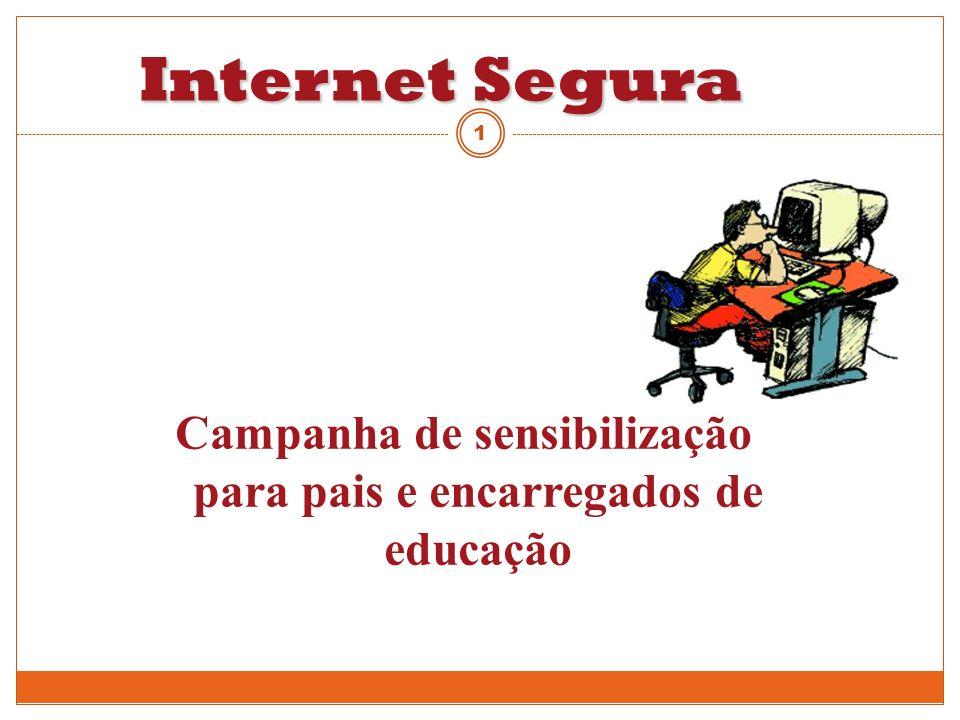 Campanha de sensibilização para pais e encarregados de educação