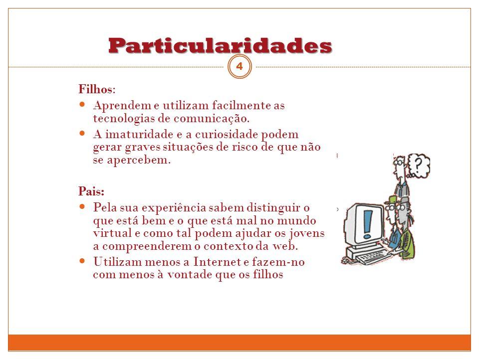 Particularidades Filhos: