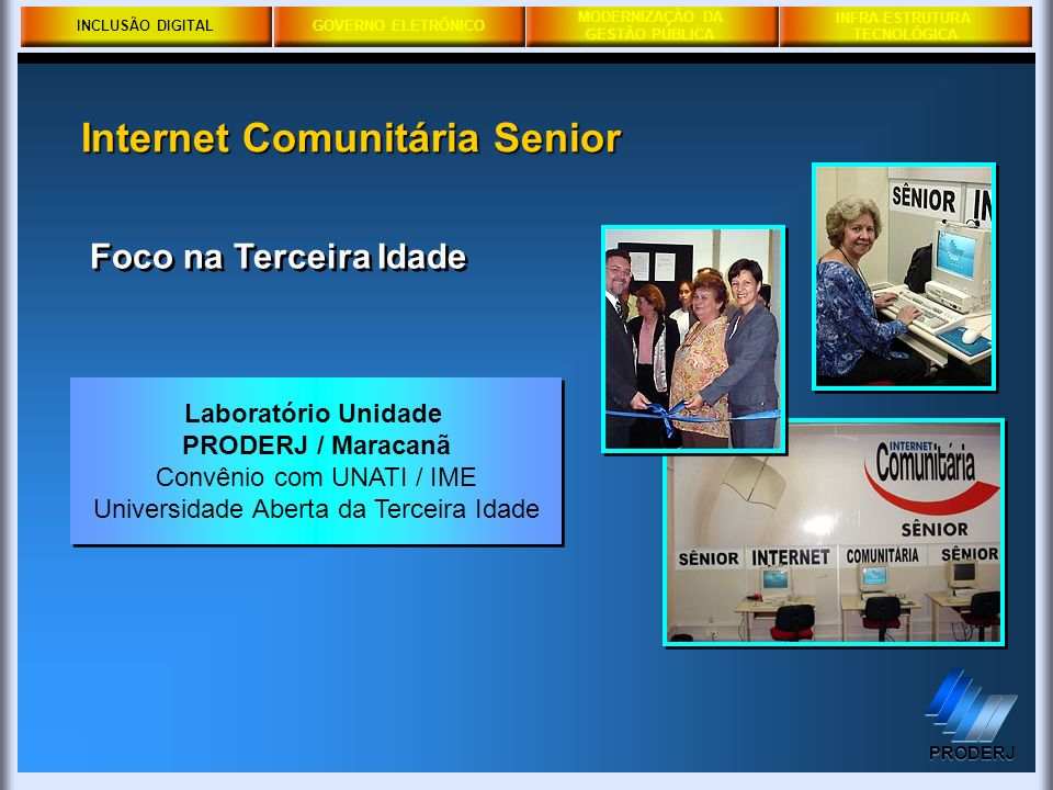 Internet Comunitária Senior