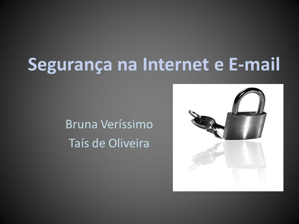 Segurança na Internet e E-mail