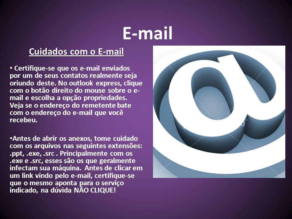 E-mail Cuidados com o E-mail
