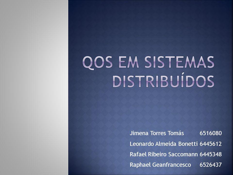 QoS em Sistemas distribuídos