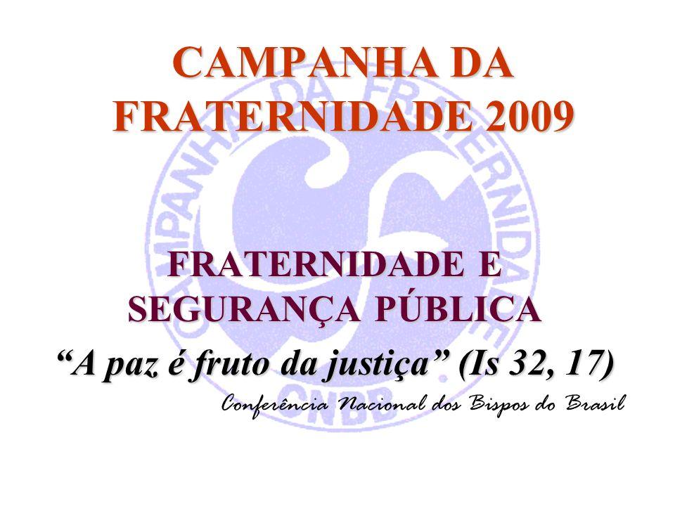 CAMPANHA DA FRATERNIDADE 2009