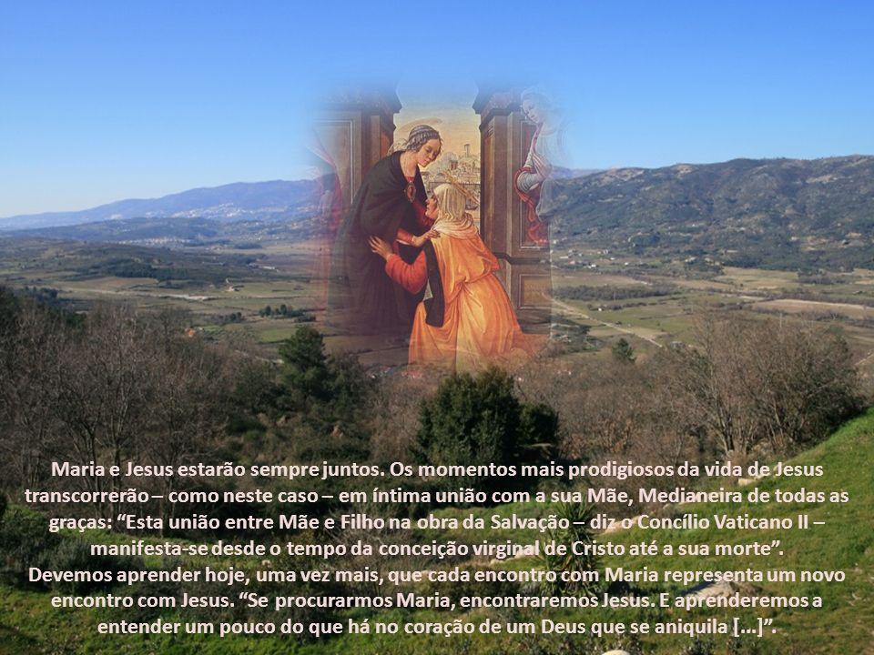 Maria e Jesus estarão sempre juntos