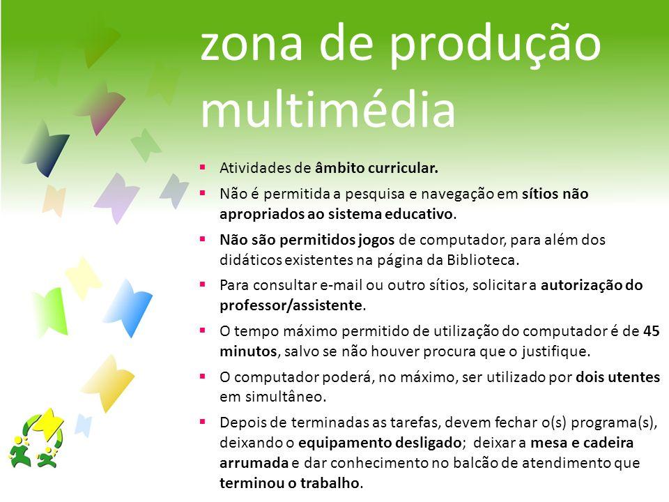 zona de produção multimédia
