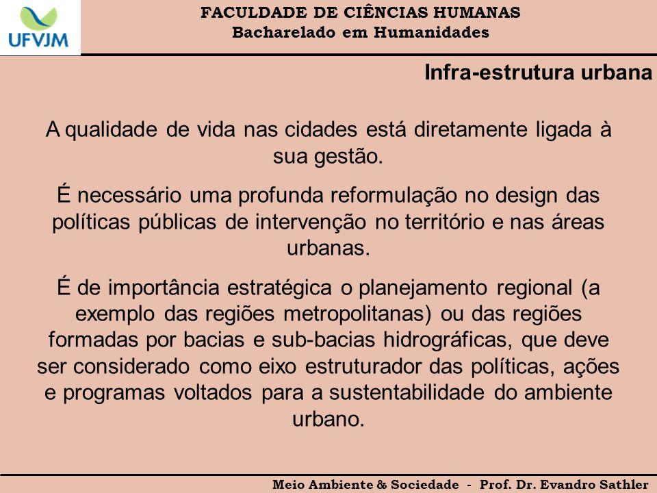 Infra-estrutura urbana