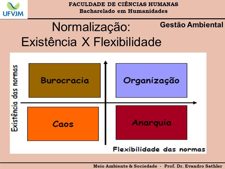 Normalização: Existência X Flexibilidade