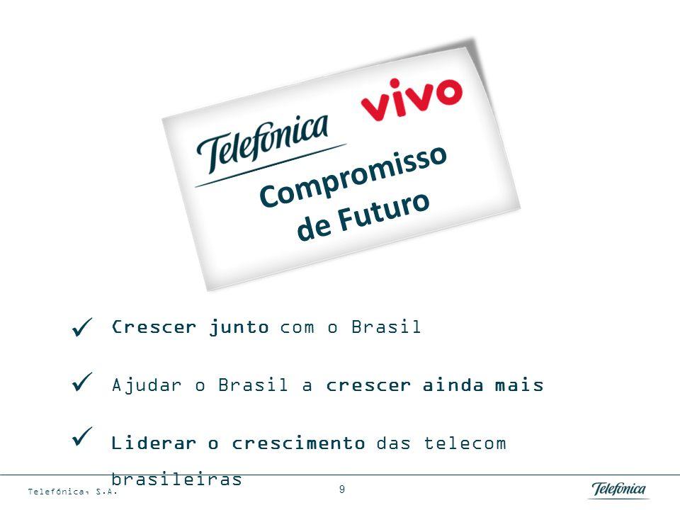 Em Julho de 2010 Telefónica criou 7 novas unidades globais de negócio …