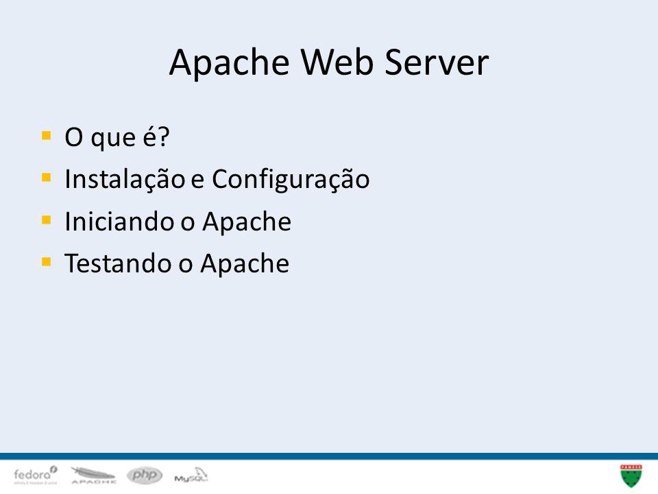 Apache Web Server O que é Instalação e Configuração