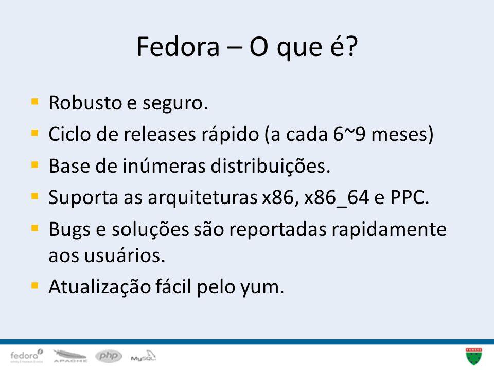 Fedora – O que é Robusto e seguro.