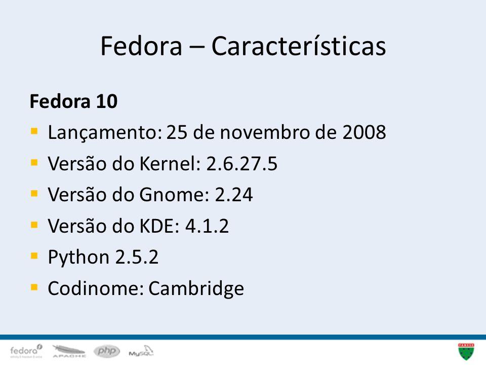 Fedora – Características