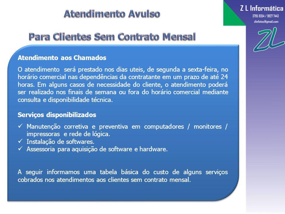 Para Clientes Sem Contrato Mensal