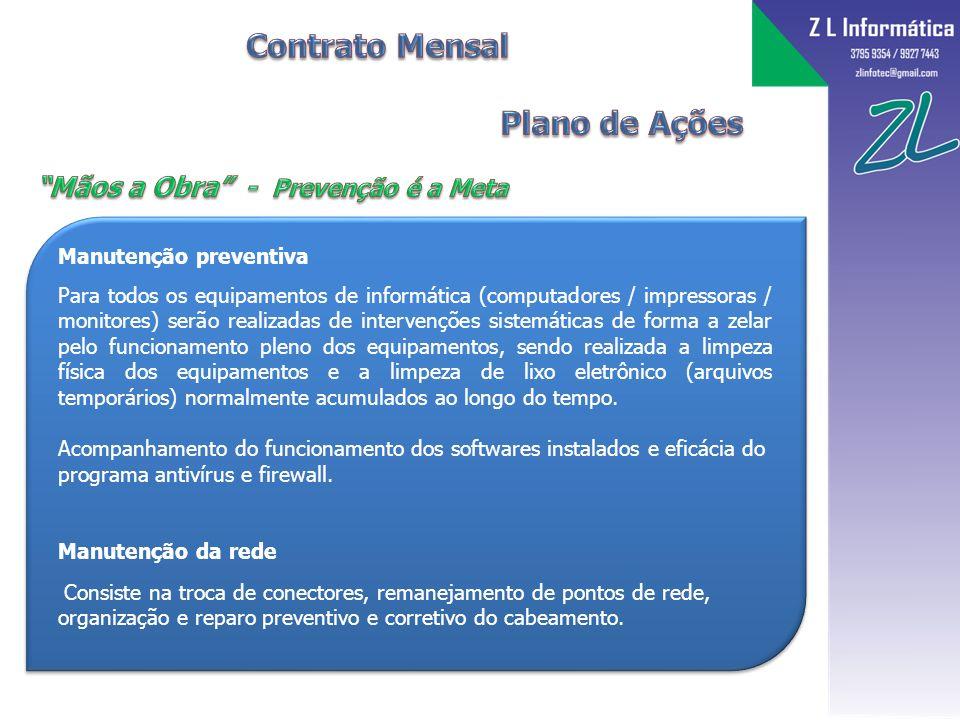 Contrato Mensal Plano de Ações Mãos a Obra - Prevenção é a Meta