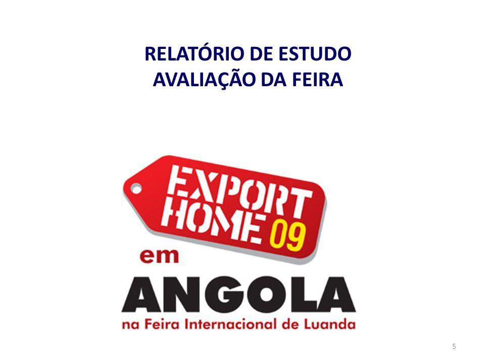 RELATÓRIO DE ESTUDO AVALIAÇÃO DA FEIRA