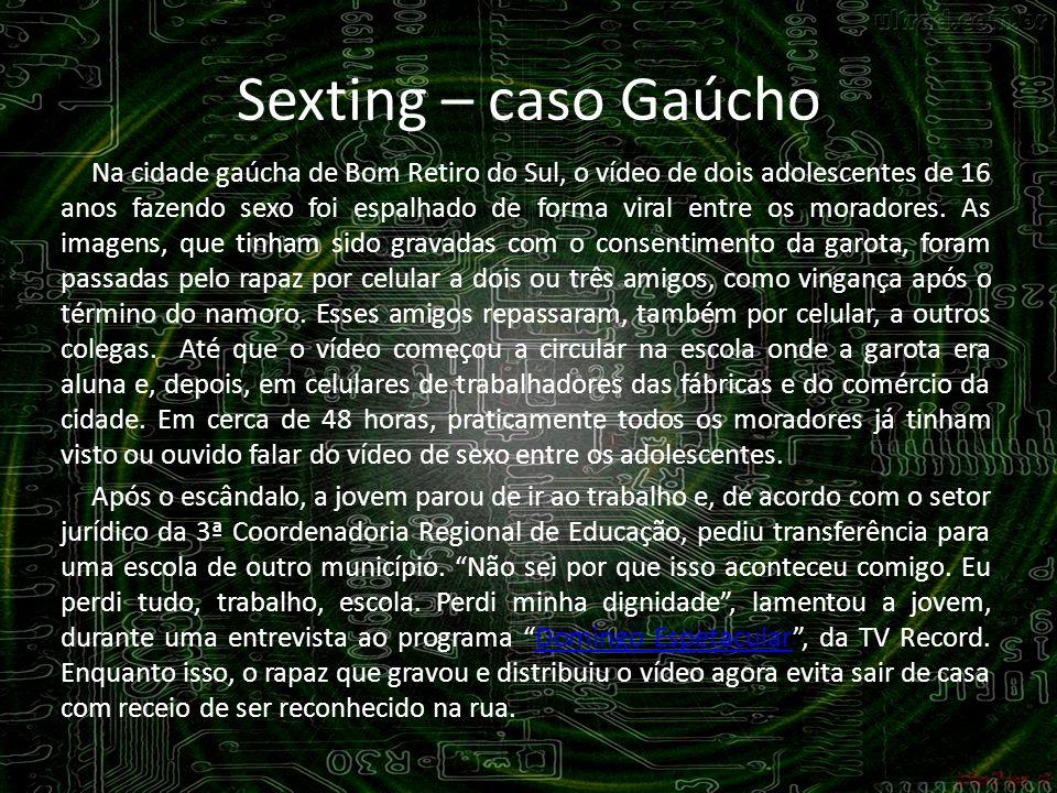 Sexting – caso Gaúcho