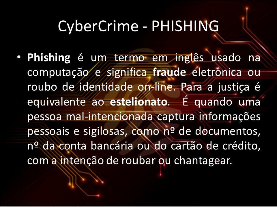 CyberCrime - PHISHING