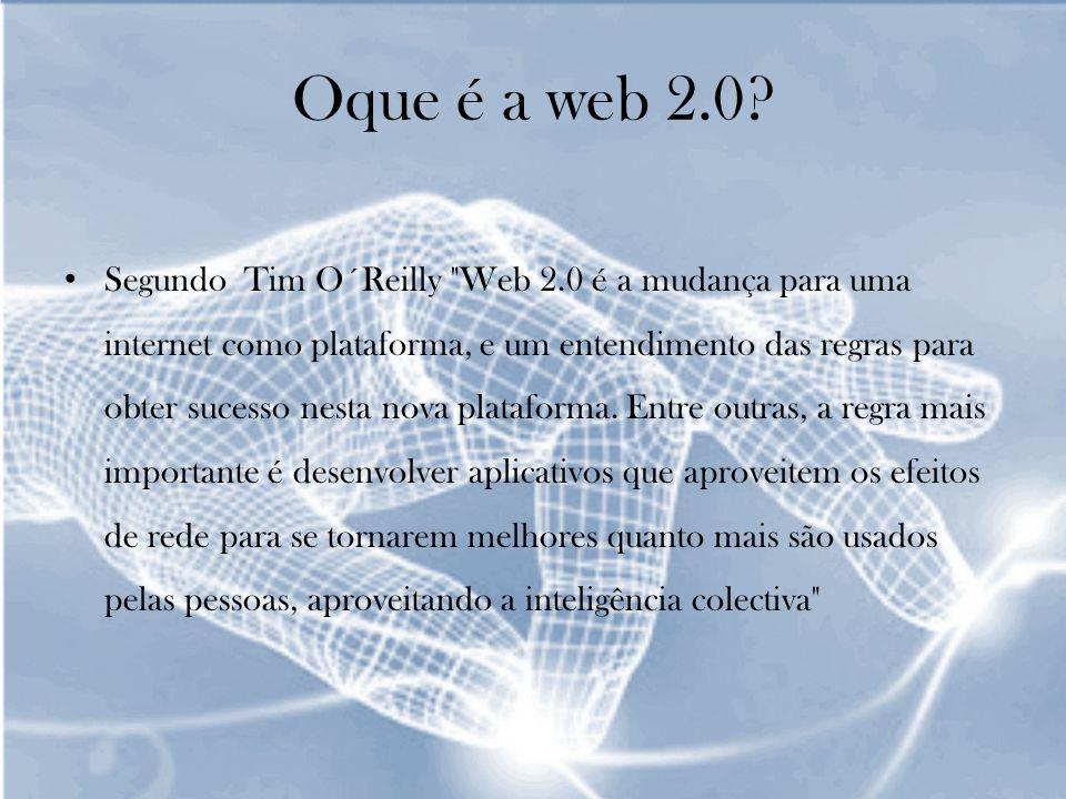 Oque é a web 2.0