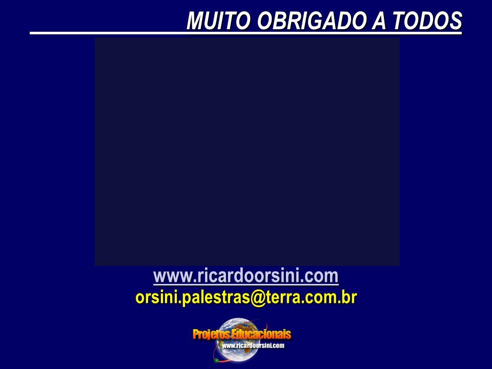 MUITO OBRIGADO A TODOS www.ricardoorsini.com