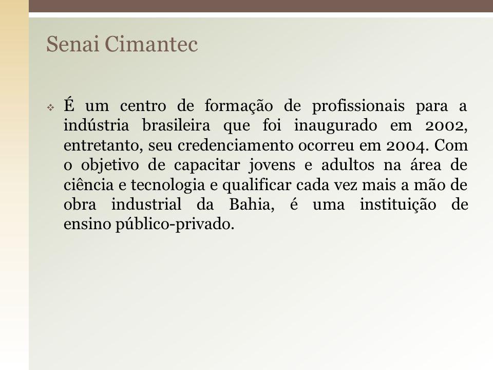 Senai Cimantec