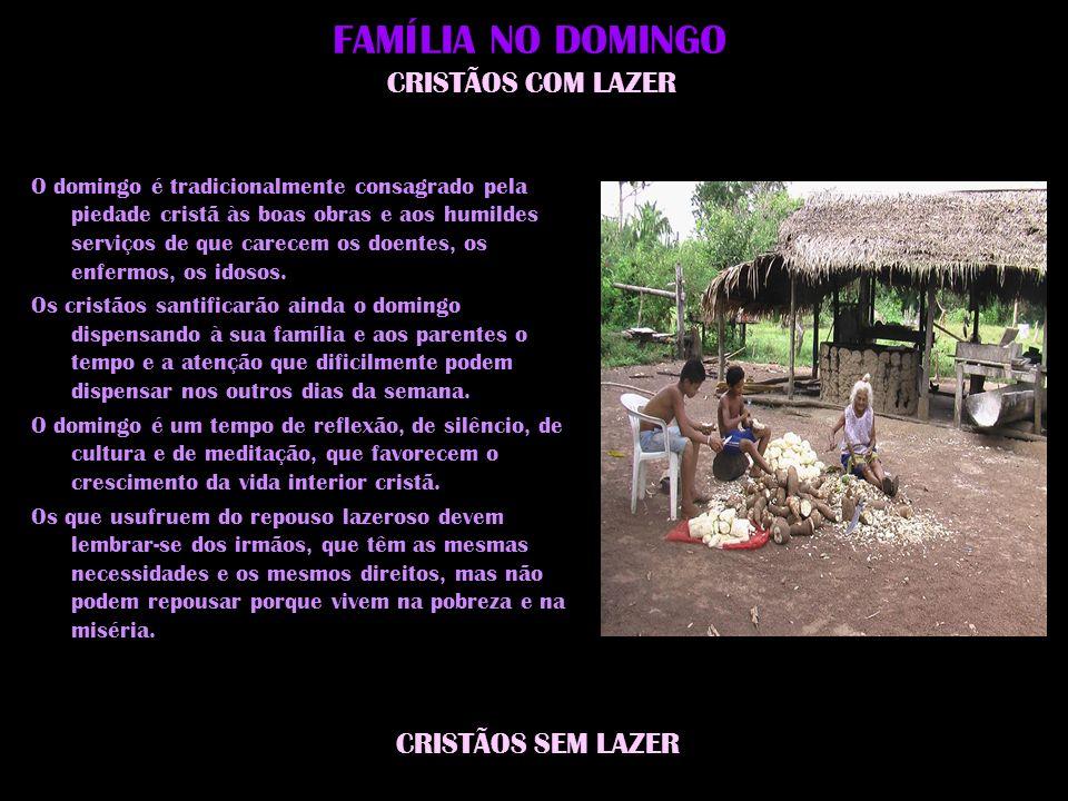 FAMÍLIA NO DOMINGO CRISTÃOS COM LAZER