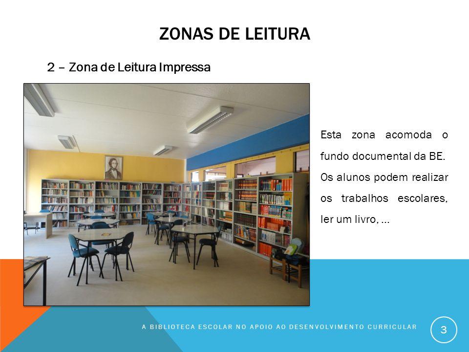 Zonas de leitura 2 – Zona de Leitura Impressa