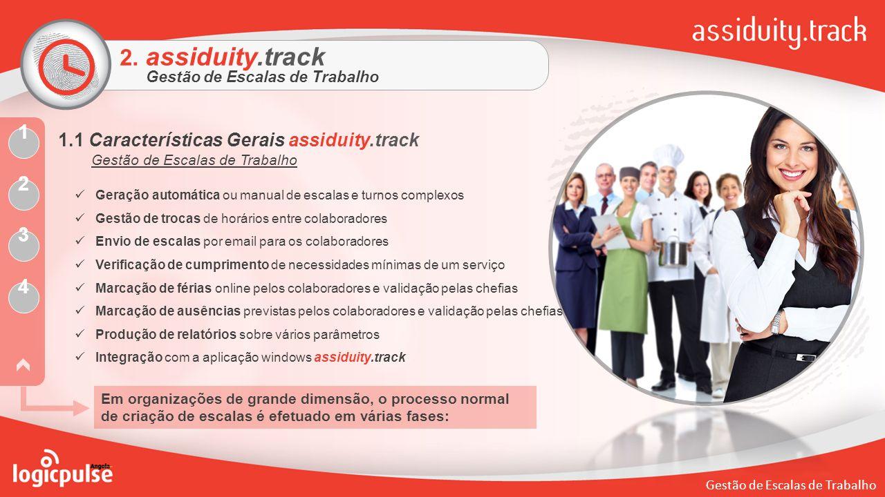 2. assiduity.track 1 2 3 4 1.1 Características Gerais assiduity.track