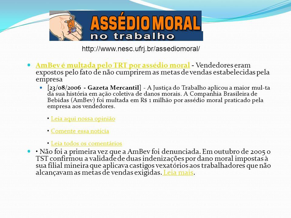 http://www.nesc.ufrj.br/assediomoral/