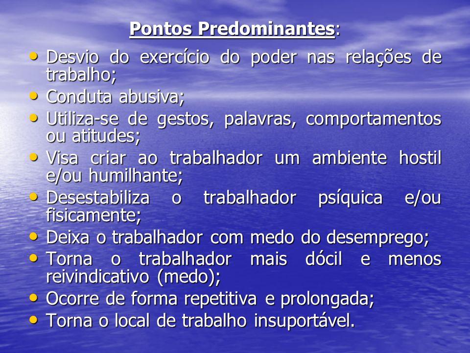 Pontos Predominantes: