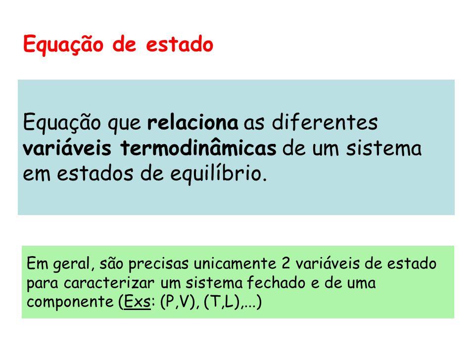 Equação que relaciona as diferentes