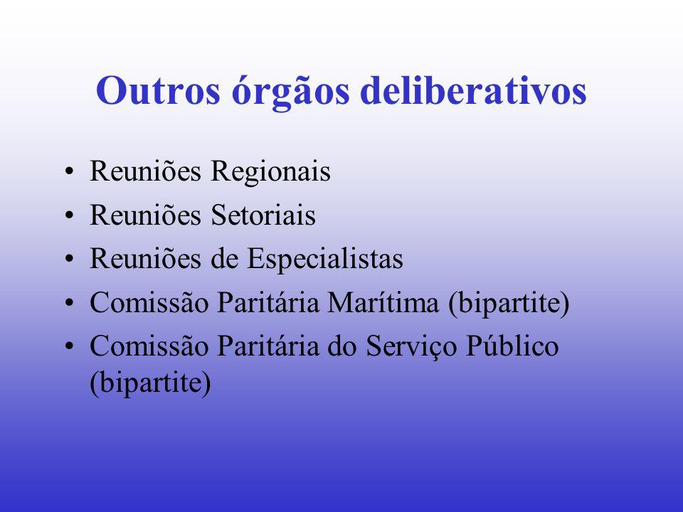Outros órgãos deliberativos