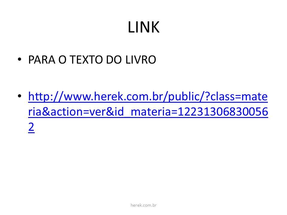 LINK PARA O TEXTO DO LIVRO