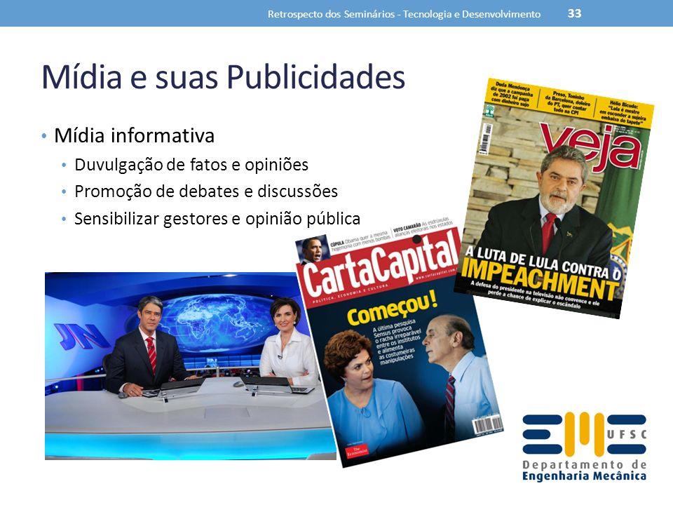 Mídia e suas Publicidades
