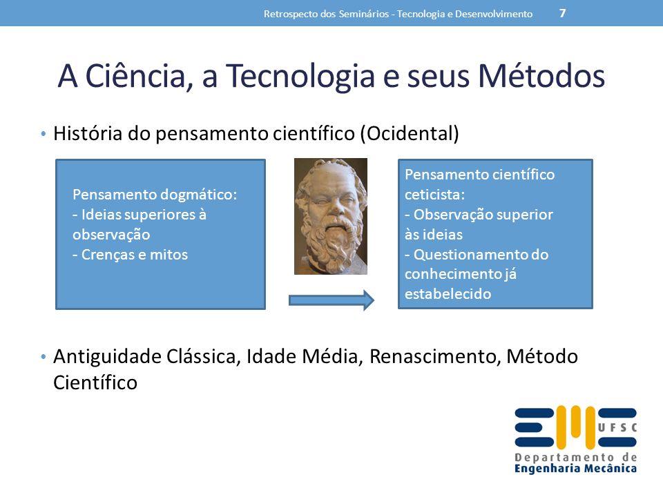 A Ciência, a Tecnologia e seus Métodos