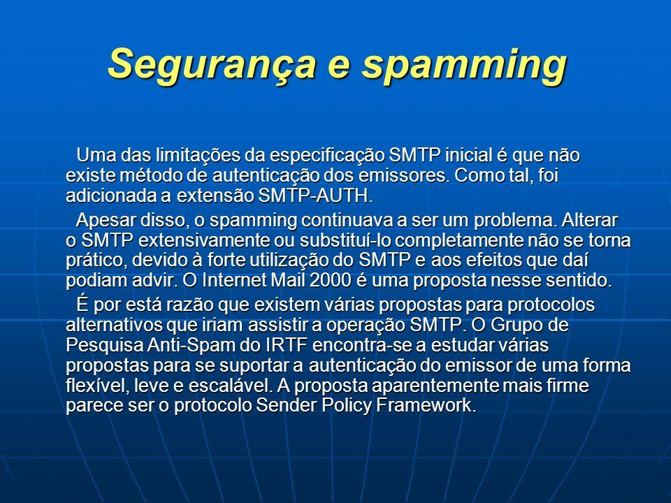 Segurança e spamming