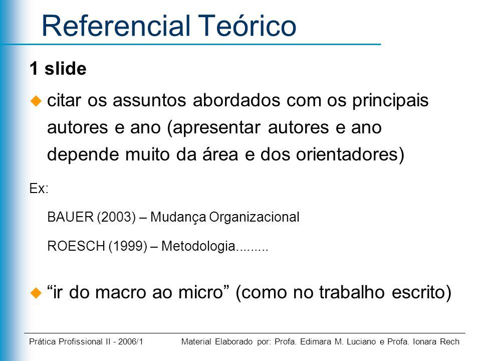 Referencial Teórico 1 slide