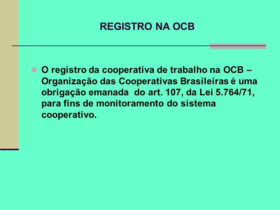 REGISTRO NA OCB