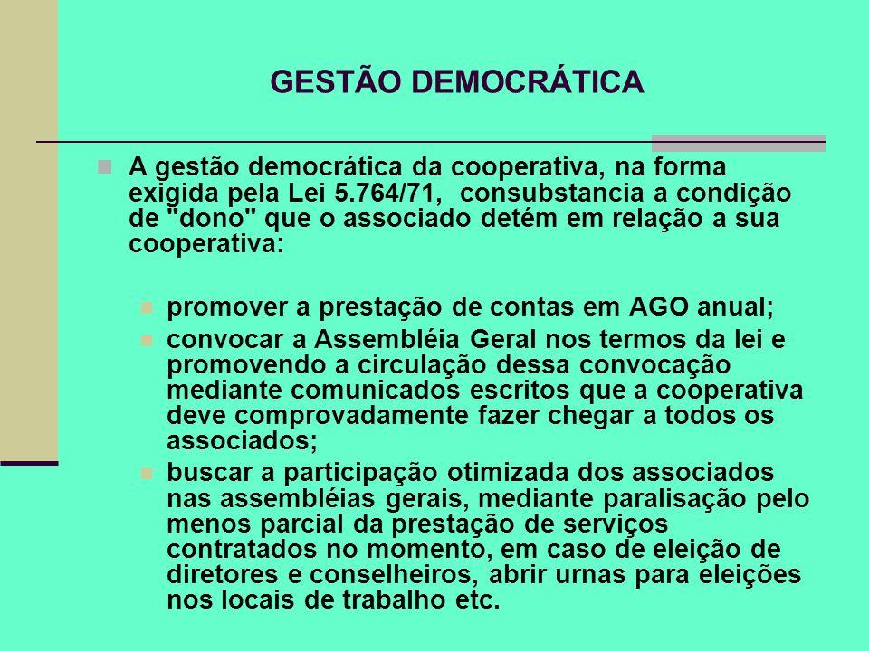 GESTÃO DEMOCRÁTICA