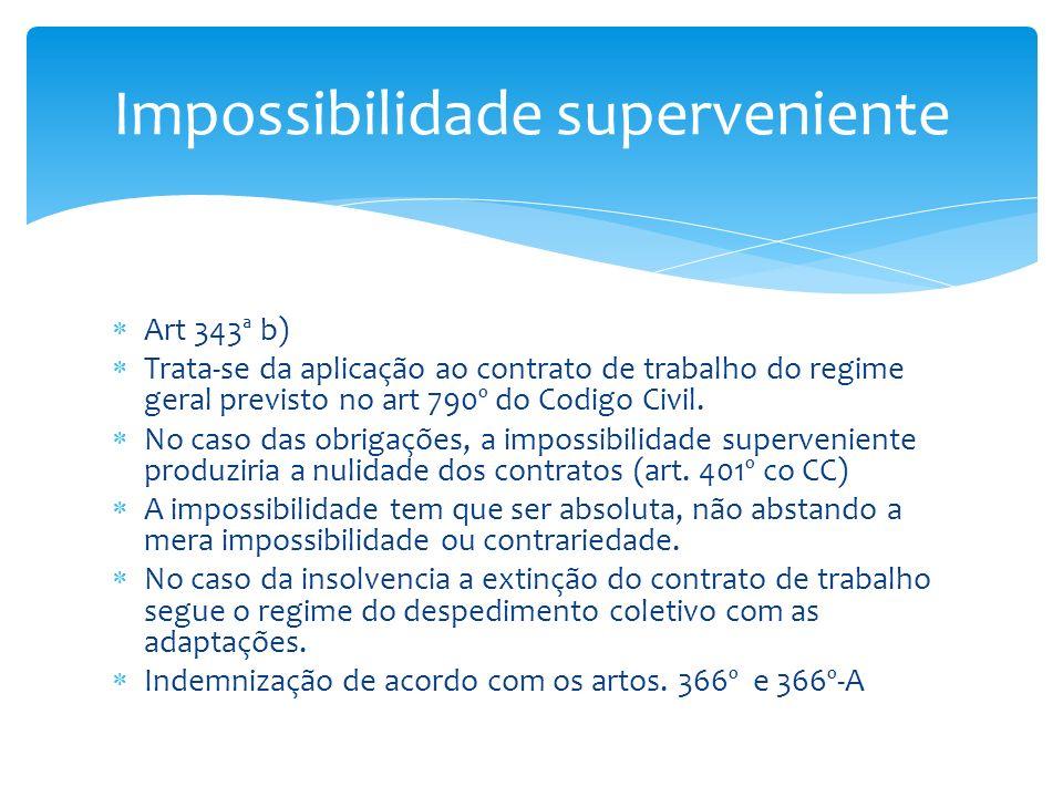 Impossibilidade superveniente