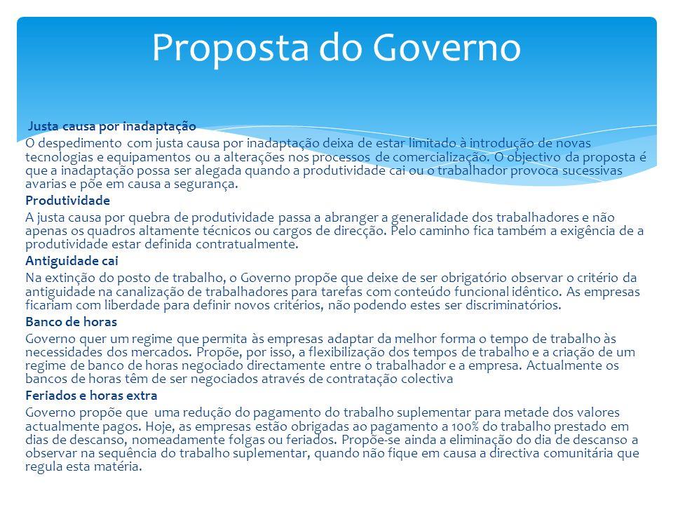 Proposta do Governo
