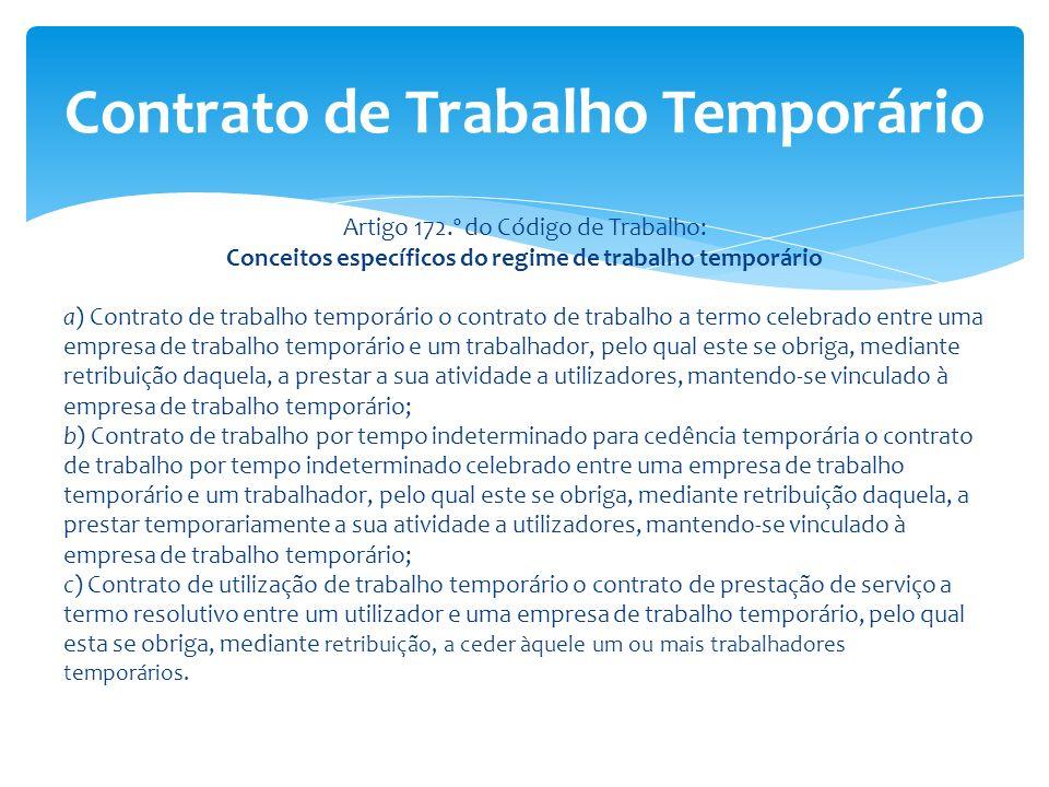 Contrato de Trabalho Temporário