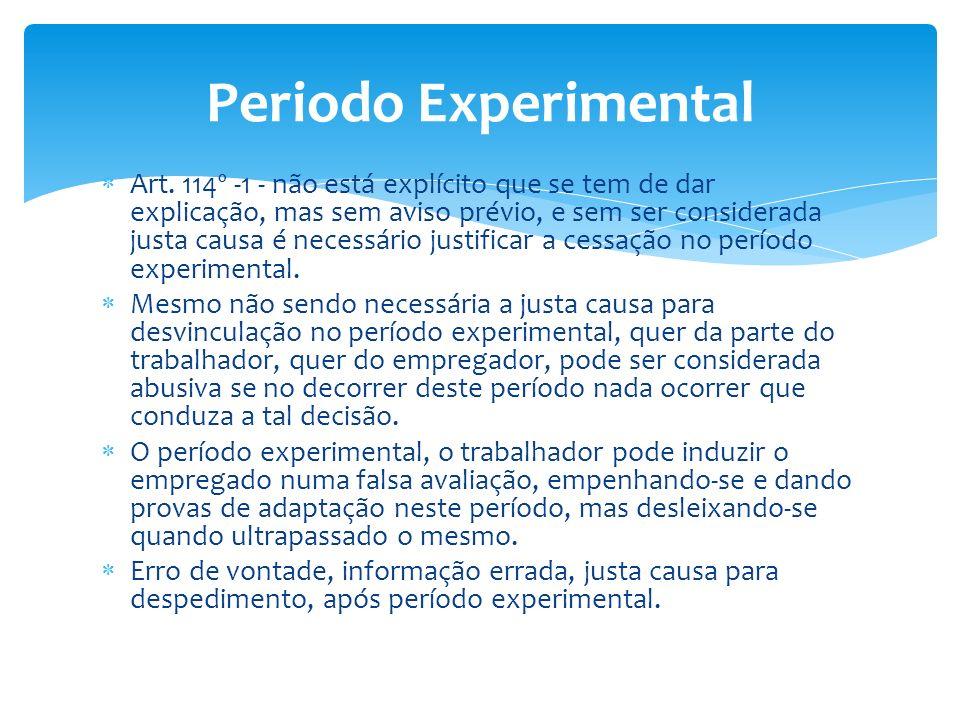 Periodo Experimental