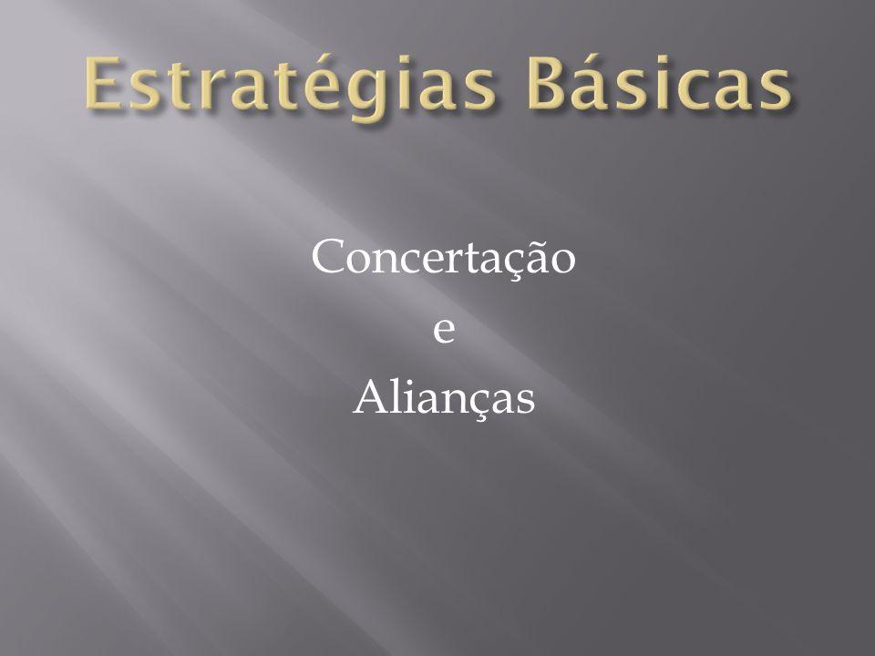 Concertação e Alianças