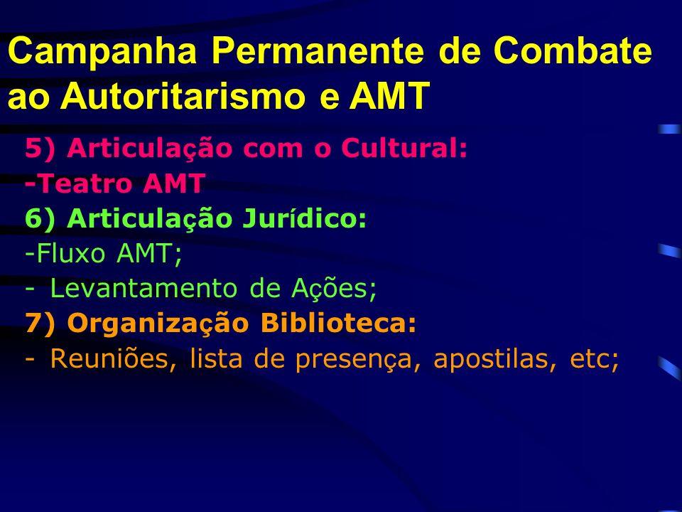 Campanha Permanente de Combate ao Autoritarismo e AMT