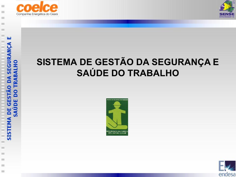 SISTEMA DE GESTÃO DA SEGURANÇA E SAÚDE DO TRABALHO