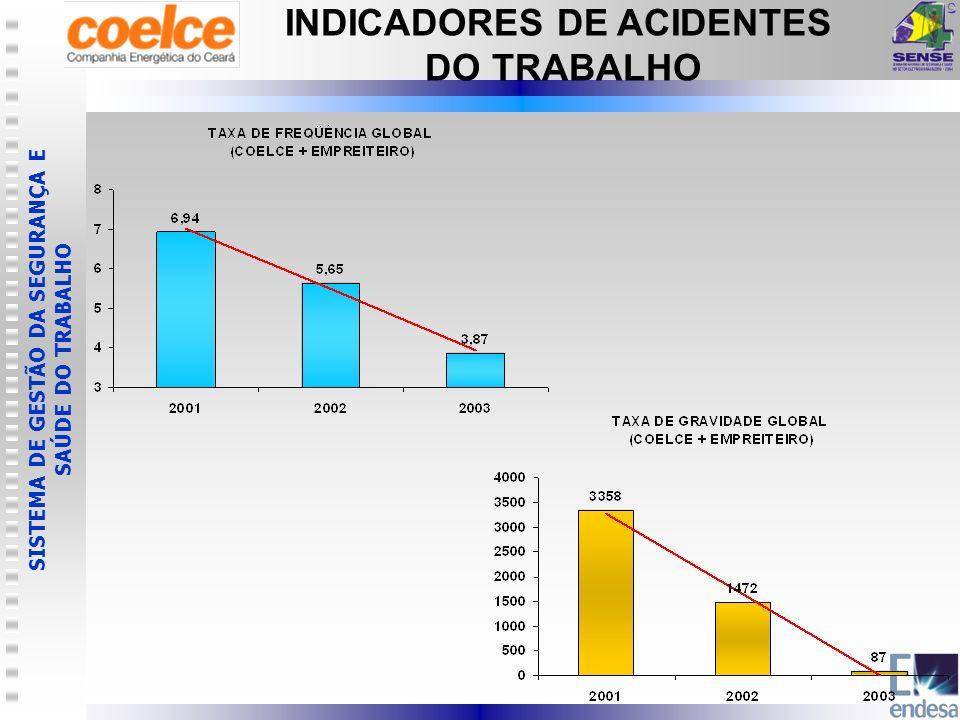 INDICADORES DE ACIDENTES
