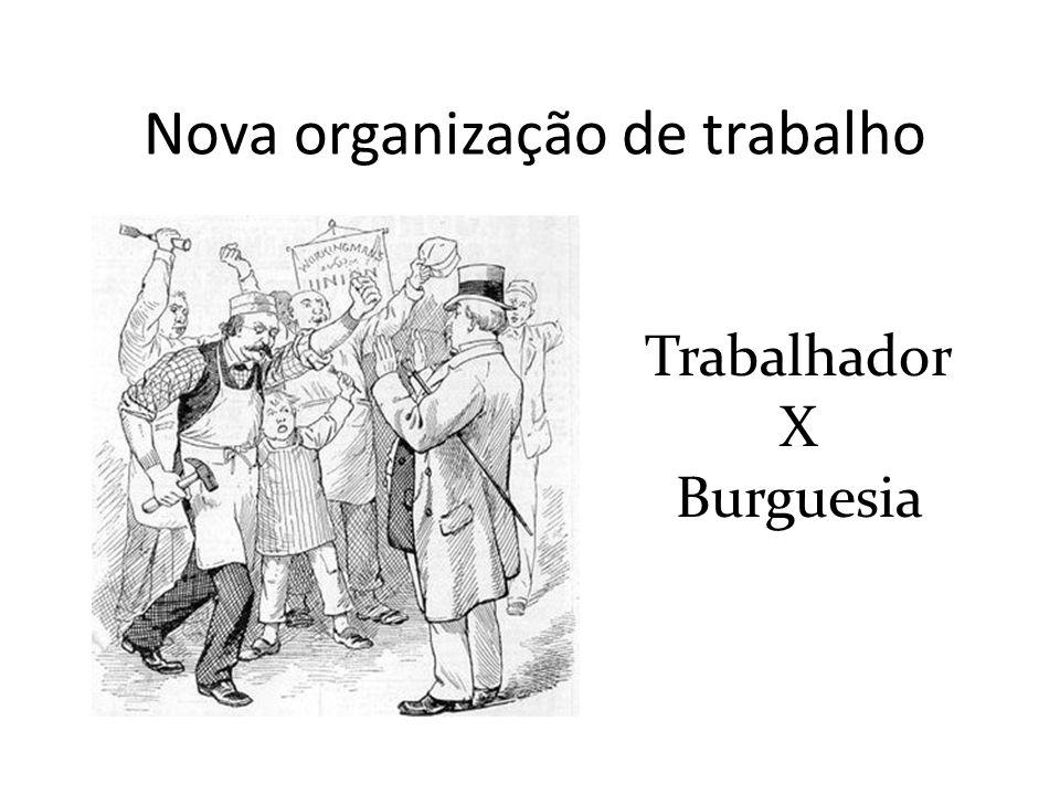 Nova organização de trabalho