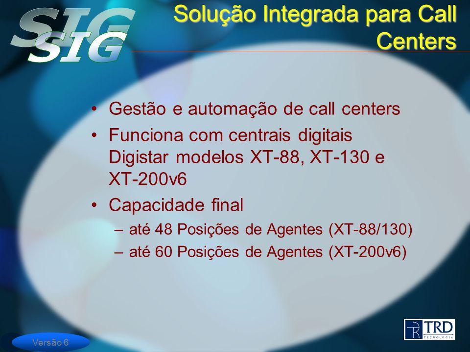Solução Integrada para Call Centers