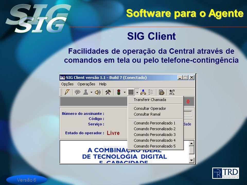 Software para o Agente SIG Client